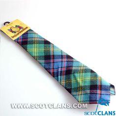Clan Watson Wool Tartan Tie