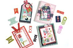 Bella Blvd Holly Jolly Christmas Collection | Various Gift Tags and Cards by Amy Heller