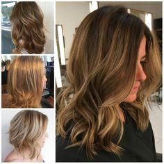 Lowlights und Highlights für Braun Haar für 2017