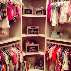 Perfect child's closet