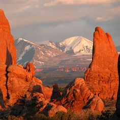 """The red rock country of southern Utah (""""1,000 Places to See Before You Die/ A Traveler's Life List"""" by Patricia Schultz)"""