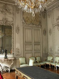 French salon- boiserie