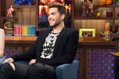 Adam Lambert reveals his type of guy: Otters. Ghost Town singer talks about 'momentary freak-out' over Madonna's song of the same name