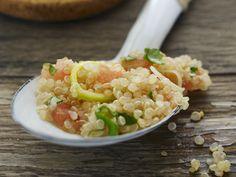 Schnell gemacht und super lecker! Quinoa-Salat auf libanesische Art (Tabouleh) - smarter - Zeit: 30 Min. | eatsmarter.de