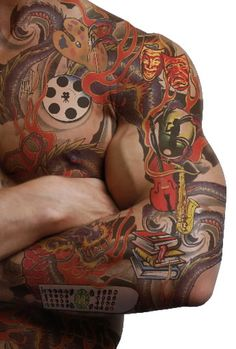 Day And Night Tattoos | Tattoos for Men, Most Famous Tattoos Designs Mens Tattoos 12 ...