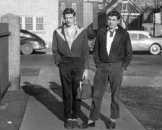 High School students - ca. 1957