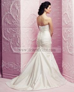 Gown 4259 | 2012 Spring Collection | Paloma Blanca (back)