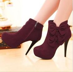 #burgendy #booties .. i think yess