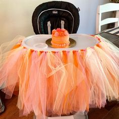Excited to share this item from my shop: Highchair Tutu, Pumpkin Pink Yellow Orange Highchair Tutu, Fall Highchair Tutu, Pumpkin Themed Highchair Tutu, Birthday Highchair Tutu Halloween 1st Birthdays, Halloween First Birthday, Fall 1st Birthdays, 1 Year Old Birthday Party, Pumpkin 1st Birthdays, 1st Birthday Party Themes, Baby Girl First Birthday, Birthday Ideas, Pumpkin Birthday Cakes