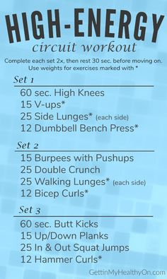 High Energy Circuit Workout Hiit, Cardio Workouts, Workout Circuit, Workout Diet, Boxing Workout, Body Workouts, Fitness Workouts, Weight Lifting, Weight Loss