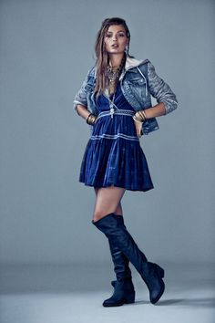 LOVE this. Throw on a pair of low top converse (white) and this outfit is the perfect mix of girly/grunge.