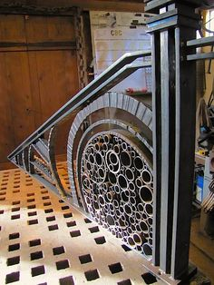 bubbles & squiggles #architectural #ironwork #railing - mark puigmarti