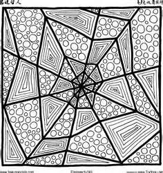 Zentangle Spiderwebs - - Yahoo Image Search Results