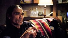 Zahn McClarnon - Tribal Police Officer Mathias (Longmire)