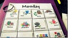 Homeschool daily task schedule ideas that are working for us (so far). :)