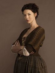 Ravelry: Claire Starz Outlander Sassenach Shrug pattern by Polly Foo Foo