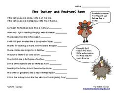{freebie} Thanksgiving fun with similes and metaphors:)