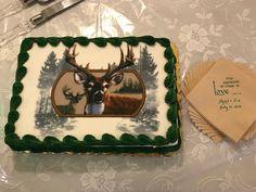 Oh Deer!  Cute Groom's cake.