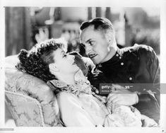 News Photo : Greta Garbo lying down with Fredric March in a... I Robert, Robert Evans, Freddie Bartholomew, Herbert Marshall, The Painted Veil, Fredric March, John Gilbert, John Barrymore, Us Actress
