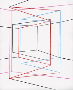 There is still a difference between something and nothing, but it is purely geometrical and there is nothing behind the geometry  Drawings and Installations by Peter K. Koch  Title: Martin Gardner