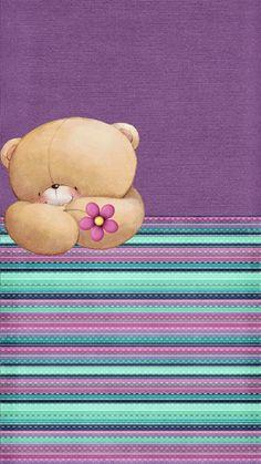 Friends Wallpaper, Bear Wallpaper, Locked Wallpaper, Wallpaper Iphone Cute, Cellphone Wallpaper, Cute Wallpapers, Wallpaper Backgrounds, Phone Themes, Blue Nose Friends