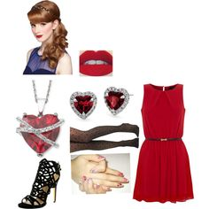 """Valentines Day. HAPPY VALENTINES DAY!"" by laurynluvs1d on Polyvore"