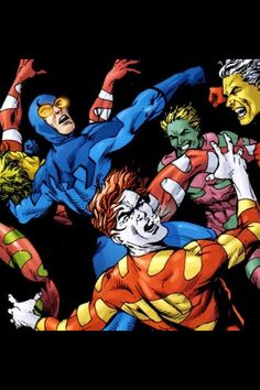 Blue Beetle vs Mad Men Comic Book Heroes, Dc Heroes, Blue Beetle, Mad Men, Justice League, Old And New, Blue Gold, Superhero, Comics