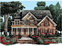 New American House Plan with 2717 Square Feet and 5 Bedrooms from Dream Home Source | House Plan Code DHSW50603