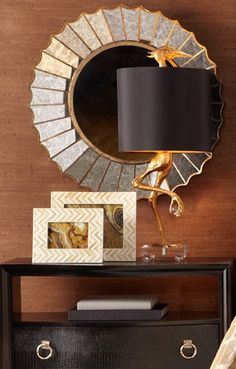 Statuesque and exuding style, our Crane Table Lamp offers a visual display of decorative distinction to feast upon.