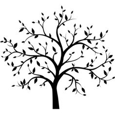 Looking for QUICK and EASY Wall Decor? TREE SILHOUETTE DECALS are perfect for…
