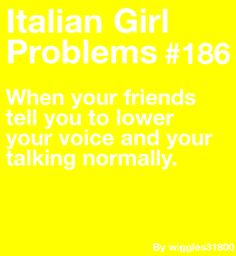 Is this what my problem is? Loud is the only Italian bit I have I guess