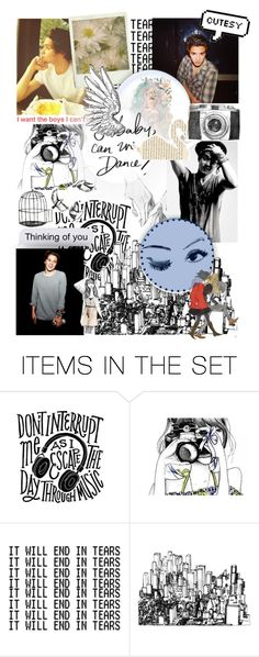 """Brad Simpson"" by beck-bows-and-ribbons ❤ liked on Polyvore featuring art"