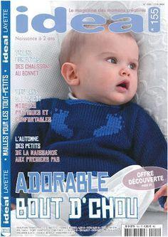 Photo : gigoteuse + paletot Knitting Magazine, Crochet Magazine, Knitting Books, Baby Knitting, Baby Jumper, Sleeping Bag, Baby Patterns, Baby Wearing, Toddler Outfits