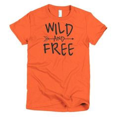 Wild And Free Boho Short Sleeve Women's T-Shirt
