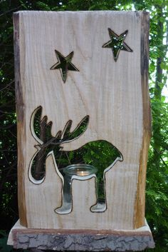 ♥♥Elch Julius♥♥Advent♥♥ von Holz- Kreativ auf DaWanda.com