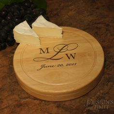 personalized cheese board cutlery set with engraved monogram