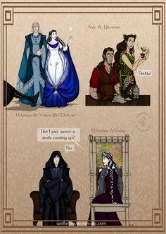 Silmarillion: Valar's Marital Life by wolfanita