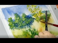 The Mind of Watercolor with Steve Mitchell - Lesson 2 - Landscape Part 2 -