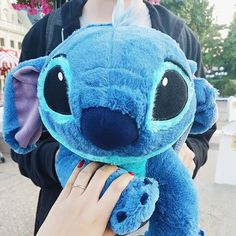 Surprise from the boyfriend: Promise ring and cute adorable Stitch doll. Love it!