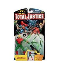 Total Justice Green Arrow Action Figure   ToyZoo.com