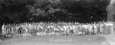 Annual Picnic Empire Cleaners & Family Service Laundry Bowen Island July 30th 1927 - City of Vancouver Archives