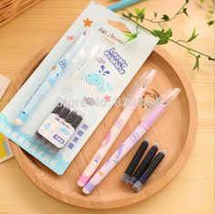 Aliexpress.com : Buy aliexpress freeshipping 2014 new Kawaii Fountain Pen funny Stationery Caneta Office accessories school supplies from Reliable accessories japanese suppliers on Yiwu Bo Qiong import &export Co., Ltd.