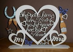 Check out this item in my Etsy shop https://www.etsy.com/uk/listing/268697830/a-beautiful-plaque-for-your-top-table