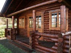 Who wouldn't want their own #Log cabin?