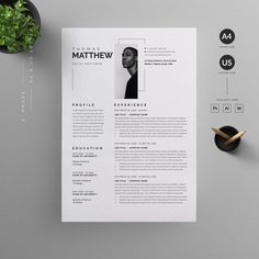 Clean, Modern and Professional Resume and Letterhead design. Fully customizable easy to use and replace color & text. H I G H L I G H T S 2 pages resume template ( A4 & US Letter ) with Bleed Compatibility with Adobe Photoshop, Adobe Illustrator and Word Well Layered & Organized everything is editable color/text 100% Scalable All Files 300DPI CMYK Ready to print Free font used Need help? Send us an email or comment.