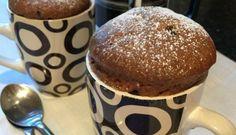 Recette facile de gâteau expresso dans un tasse (5 minutes)