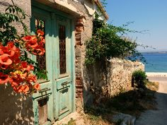 Old house, Spetses, Greece
