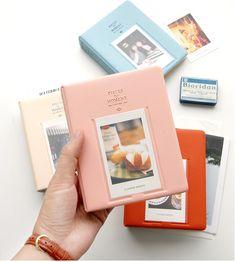 64 Pockets Mini Instant Polaroid Photo Album Picture Case Storage for Fujifilm Instax Mini Film 8 Korea instax mini album Fuji Instax Mini, Instax Mini Film, Instax Mini Album, Instax Mini 8 Camera, Fujifilm Instax Mini 8, Photo Book, Diy Album Photo, Mini Albums Photo, Picture Albums