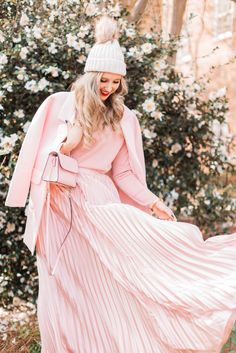 The Most Important Style Element In A Monochromatic Look - Blush