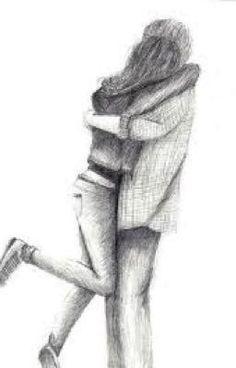 "Easy Pencil Drawings Of People Hugging Couple hugging in love love<<<<*cough cough* ""easy"" XD Easy Pencil Drawings, Croquis Couple, Hugging Drawing, Photo Manga, People Hugging, Art Couple, Cute Couple Drawings, Cute Sketches Of Couples, Easy Drawings Of Love"